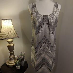 Trina Turk 100% Silk Sleeveless Dress